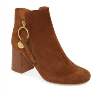 See by Chloe Louise Bootie Medium Ankle Boot